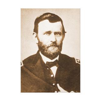 General Ulysses Grant c1865 Gallery Wrap Canvas