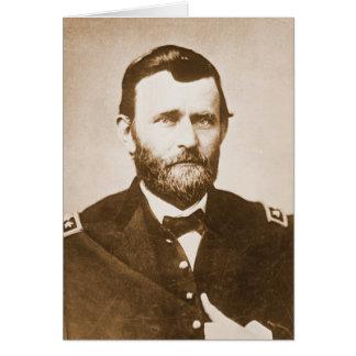 General Ulysses Grant c1865 Greeting Card