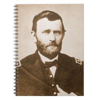 General Ulysses Grant c1865 Spiral Notebooks