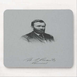 General Ulysses S Grant And His Signature Mouse Pad