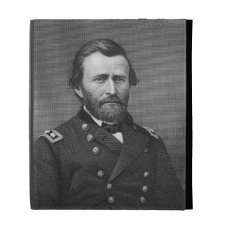 General Ulysses Simpson Grant engraved after a da iPad Folio Cover