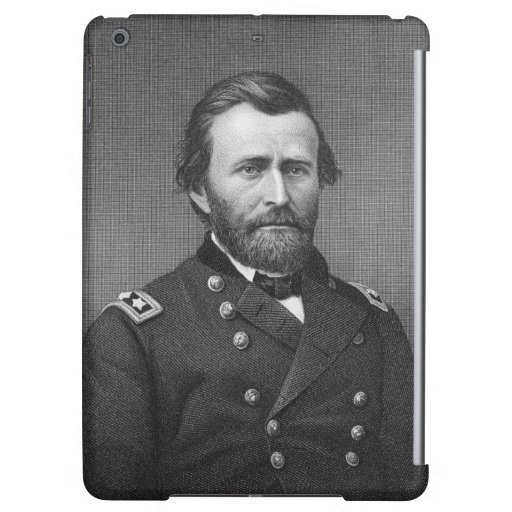 General Ulysses Simpson Grant, engraved after a da Case For iPad Air