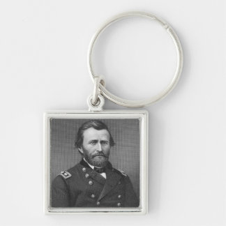 General Ulysses Simpson Grant, engraved after a da Key Ring