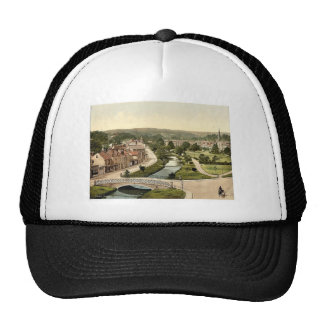 General view from cascade, Dawlish, England classi Hats