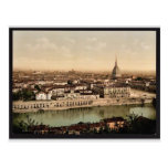 General view from Mount of the Capuchins, Turin, I Postcard