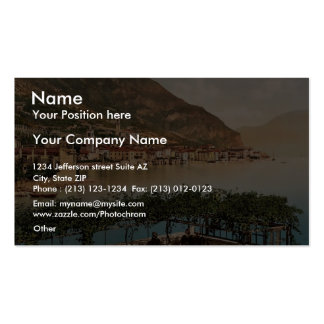 General view, Gargnano, Garda, Lake of, Italy vint Pack Of Standard Business Cards