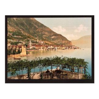 General view, Gargnano, Garda, Lake of, Italy vint Postcard