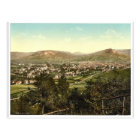 General view, Jena, Thuringia, Germany classic Pho Postcard