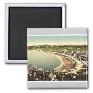 General view, Llandudno, Wales rare Photochrom Magnet