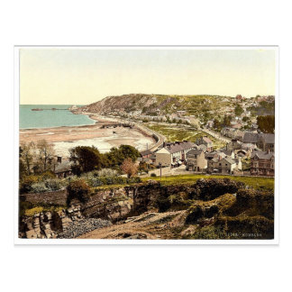 General view, Mumbles, Wales rare Photochrom Postcard