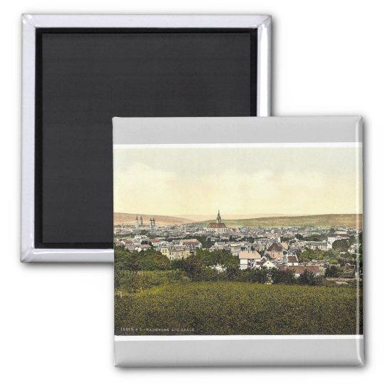 General view, Naumburg on the Saale, Saxony, Germa Magnet