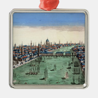 General View of London Christmas Ornament