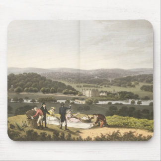 General View of Longleat from the Prospect Hill, f Mouse Pad