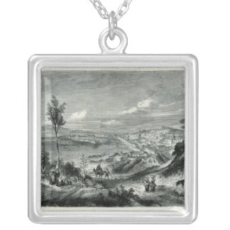 General View of Messina Silver Plated Necklace