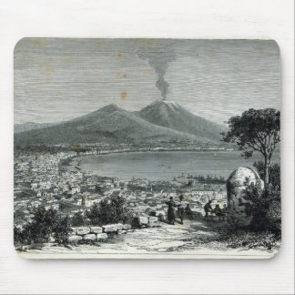 General View of Naples Mouse Mat