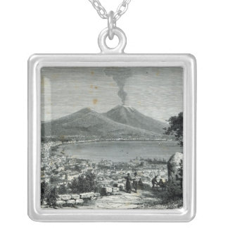 General View of Naples Silver Plated Necklace