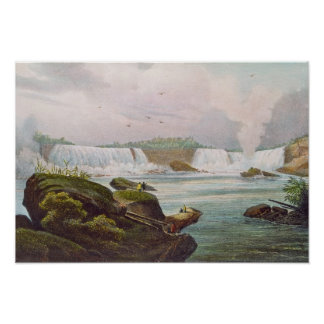General View of Niagara Falls from Canadian Side Poster