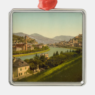 General View of Salzburg, Austria Christmas Ornament