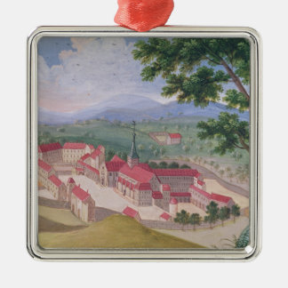 General view of the Abbey from the east Christmas Ornament