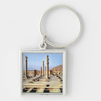 General view of the Apadana  founded c.518 BC Key Ring