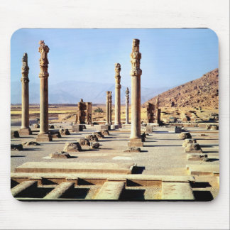 General view of the Apadana  founded c.518 BC Mouse Mat
