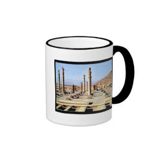 General view of the Apadana  founded c.518 BC Mug