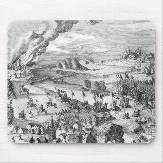 General view of the battle of Muhlberg Mouse Pad