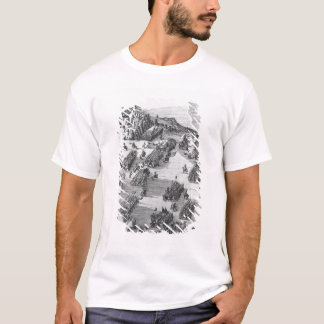 General view of the battle of Muhlberg T-Shirt