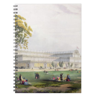 General view of the exterior of the building, in t notebooks