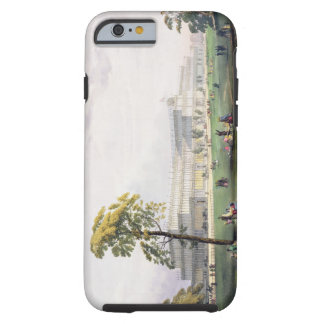 General view of the exterior of the building, in t tough iPhone 6 case
