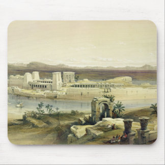 General View of the Island of Philae, Nubia, from Mouse Mat