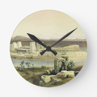 General View of the Island of Philae, Nubia, from Round Clock