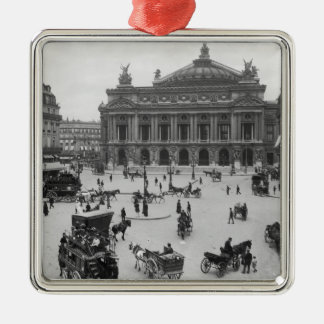 General view of the Paris Opera House Christmas Ornament