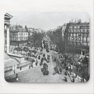 General view of the Place de la Madeleine Mouse Pad