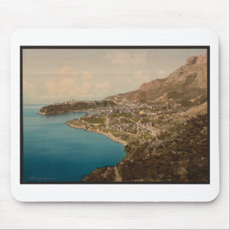 General view of the principality, Monaco, Riviera Mouse Pad