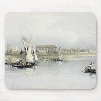 General View of the Ruins of Luxor from the Nile, Mouse Mat