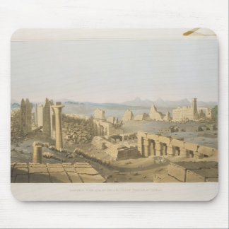 General View of the Ruins of the Great Temple of C Mouse Mat