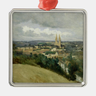 General View of the Town of Saint-Lo, c.1833 Christmas Ornament