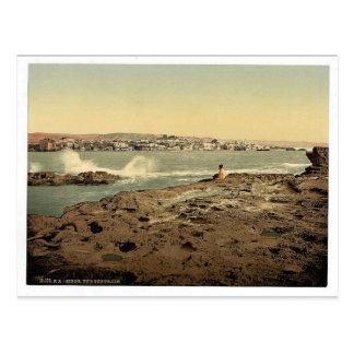 General view, Sidon, Holy Land, (i.e. Lebanon) cla Postcard