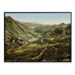 General view, Thal von Rieka, Montenegro vintage P
