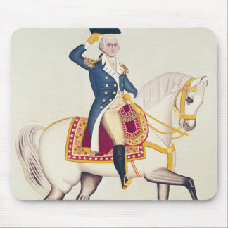 General Washington on a White Charger, c.1835 Mouse Pad