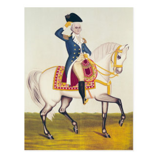 General Washington on a White Charger, c.1835 Postcard