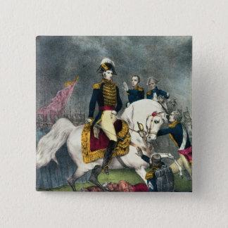 General William H. Harrison  at the Battle 15 Cm Square Badge