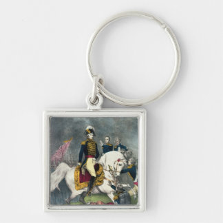 General William H. Harrison  at the Battle Key Ring