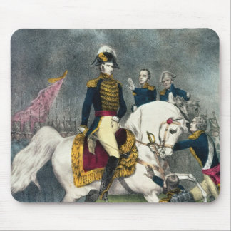 General William H. Harrison  at the Battle Mouse Mat