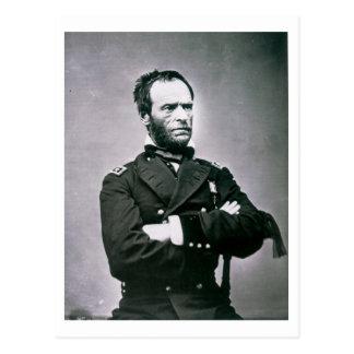 General William T. Sherman (1820-91) (b/w photo) Postcard