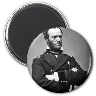 General William Tecumseh Sherman, 1865. Magnet