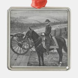 General William Tecumseh Sherman at Atlanta Christmas Ornament