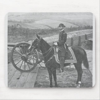General William Tecumseh Sherman at Atlanta Mouse Pad