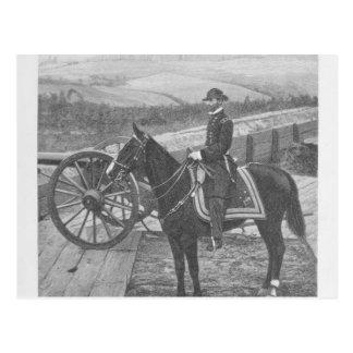 General William Tecumseh Sherman at Atlanta Postcard